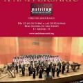 Cartel del concierto X Aniversario del Coro Matritum Cantat