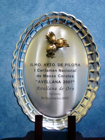 Premio nacional de corales de la Avellana